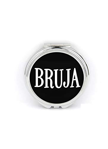 Bruja Compact Mirror Handmade Witch Occult -