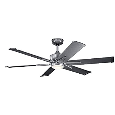 Kichler Ceiling Fan 6 Speed DC Wall Control