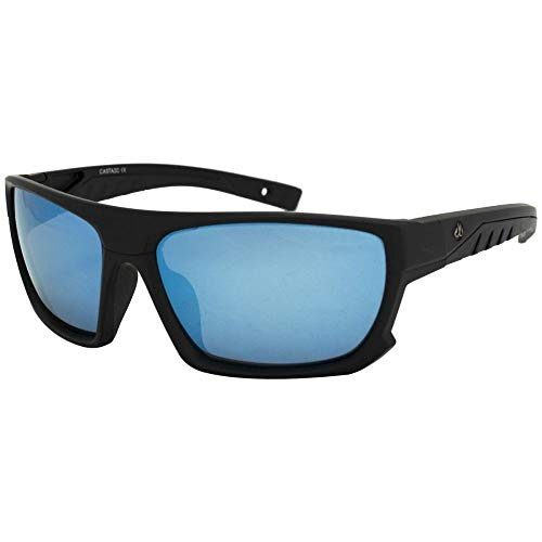 (Filthy Anglers Castaic Sports Sunglass for Fishing with Polarized Ice Blue Mirror Lens)