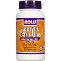 NOW Foods Acetyl L-carnitine 500mg, 50 Capsules