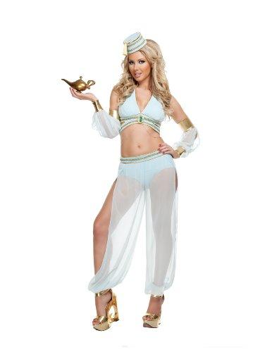 Starline Sexy Dreamy Genie Women's Costume 5 Piece