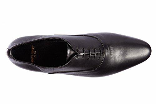Saint Laurent Paris chaussures à lacets classiques homme en cuir oxford nappa no