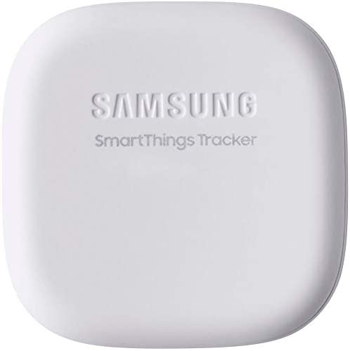 Samsung SmartThings Tracker | Live GPS Tracking Via Nationwide LTE| Track Locations of Kids, Car, Keys, Pet, Wallet, Luggage, and More | Small Compact Lightweight 1.7 x1.7 in | White