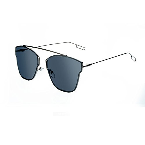 Sinkfish SG80058 Sunglasses for Womenfashion Non-Polarizer - UV400/Black Frames/Steelblue - Jabong Sunglasses