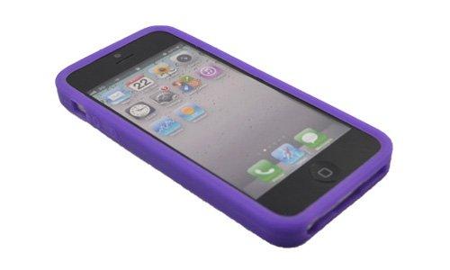 Back Cover für iPhone 5 5G Spielkonsolen Case Silikon Schutz Hülle Rosa #YXJ