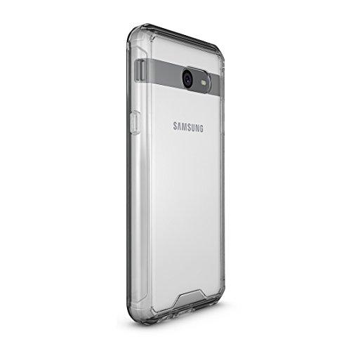 XIAOGUA Cases & Covers, Para Samsung Galaxy J5 (2017) / J530 (Versión de EE. UU.) Funda protectora de armadura transparente a prueba de golpes + TPU ( Size : Sas0576t )