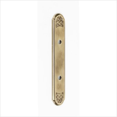 Alno A1487-3-AP Classic Weave Suite Pull Cabinet Backplate by Alno (Image #5)