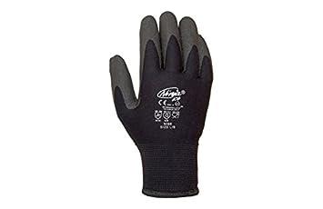 Juba - Guante ninja ice nylon acrilico pvc negro talla 9
