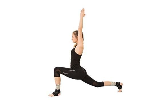 UPC 749882963989, Wistaria Winter Leg Warmer Crochet Knit Boot Socks (Yoga black)