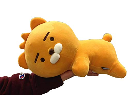 Lion Soft Doll - Awooi Little Friends Plush Toys Korean Cartoon Dog Lion Soft Doll Baby