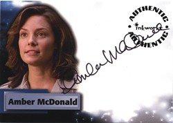Smallville Season 6 A53 Amber McDonald Autograph Card