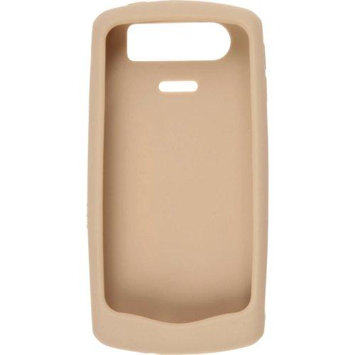 BlackBerry Rubberized Skin for 81xx Pearl - Gold - Bulk (Blackberry Rubberized Skin)
