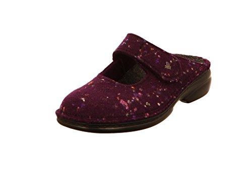 Comfort 06564570053 donna Finn Borgogna Pantofole 46wT0