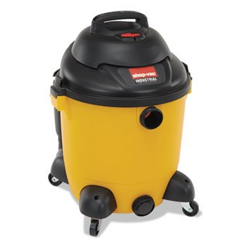 Industrial Wet/Dry Vacuum, 12gal, 2.5hp, - Canister Gallon 12