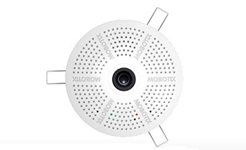 MOBOTIX MX-C26B-6D016 Hemispheric IP Indoor Camera, 6 MP Resolution, Moon-Light Sensor, Professional Software, Video Analytics        - Mobotix Camera Ip