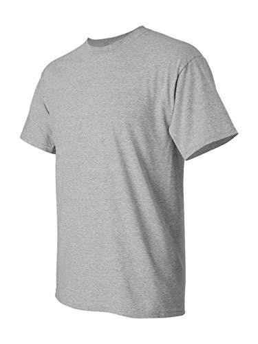 Gildan Men's Heavy Cotton Tee (Pack of 12), Sport Grey, Large - Others T-shirt Grey Ash