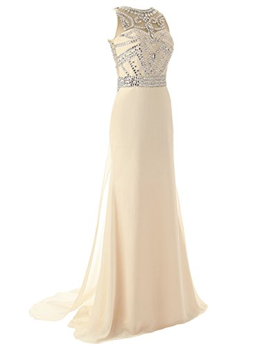Di Dell'abito Partito Cristallo Chiffon Vestito 121 Jaeden Promenade Bordare Evening Dress Da Lunga qEp6t6