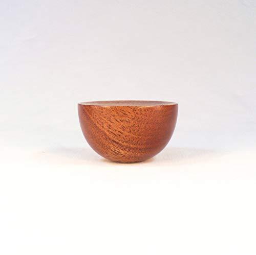 Lamp Finial, Mahogany, Cup Pattern 8