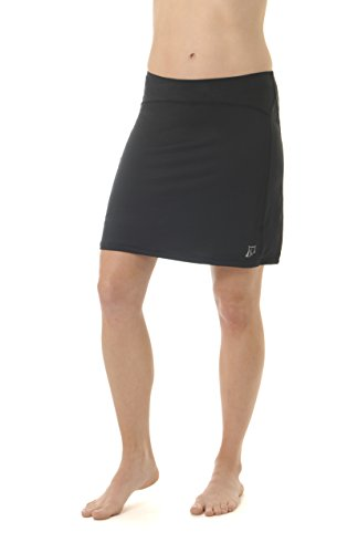 Skirt Sports Women's Happy Girl Skirt, Black, ()