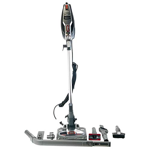 Shark Rocket HV382 DuoClean Ultra-Light Corded (Non-Cordless) Bagless Carpet and Hard Floor with Hand Vacuum, Charcoal