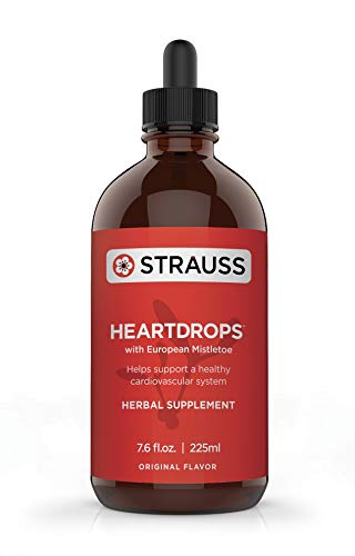 Strauss Heartdrops–Aged Garlic Extract, Herbal Supplement for Heart Health-Heartdrops | Maintain a Healthy Cardiovascular System–High Quality, Natural Ingredients (7.6 fl oz Original Flavor) by Strauss Herb Company (Image #3)