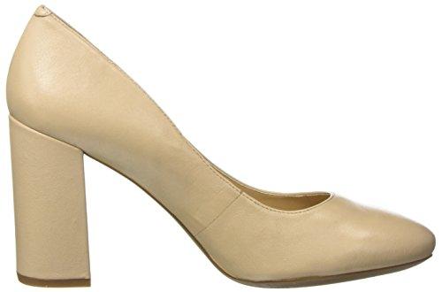Geox D Audalies High a, Zapatos de Tacón para Mujer Beige (LT TAUPEC6738)