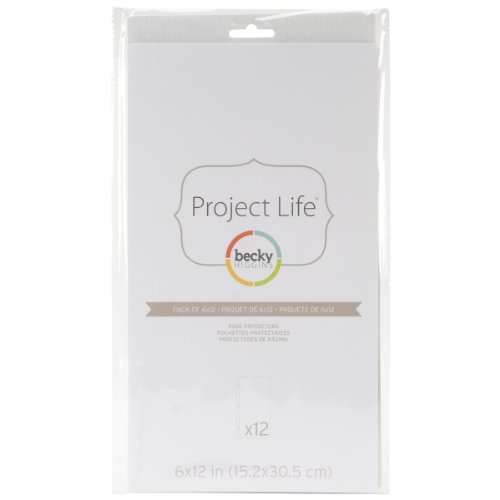 (American Crafts 380016 Project Life Page Protectors 6