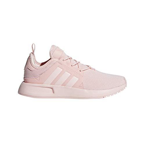 (adidas Originals Girls' X_PLR J Running Shoe, ICE Pink, 6 Medium US Big Kid)
