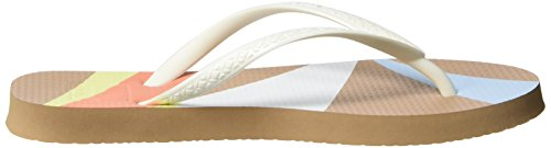 Reef Escape, Sandalias para Mujer Multicolor (Tan Geo)
