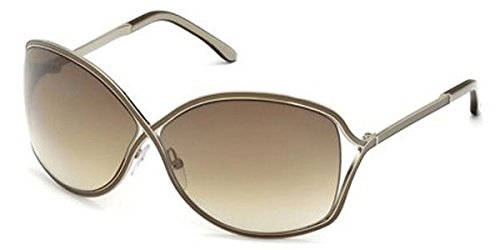Tom Ford Sunglasses Silver - TOM FORD SUNGLASSES TF 179 57F SILVER RICKIE