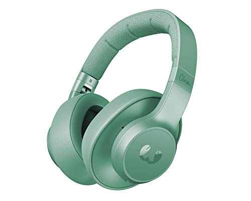 Fresh 'n Rebel Clam ANC Headphones Misty Mint  Over-ear Wireless Bluetooth Headphones with Active Noise Canceling – Back…