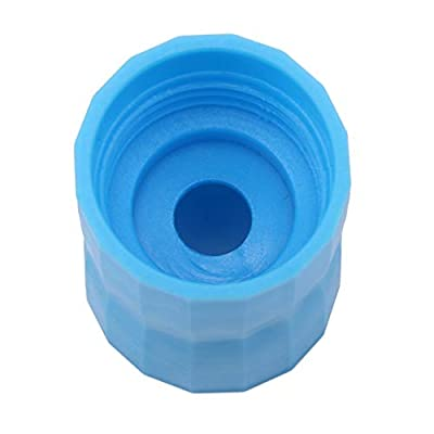 YESMAEA Tornado Bottle Connectors Sand Leakage Connector Cyclone Tube for Scientific Experiment Game,Blue: Kitchen & Dining
