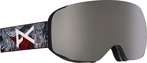 Anon M2 Goggle/Spare Lens, Red Planet/Silver Solex - Lenses M2 Anon