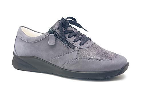 De À Pour Femme Lacets Ville Gris Chaussures Christian Dietz 4qwg7Fp