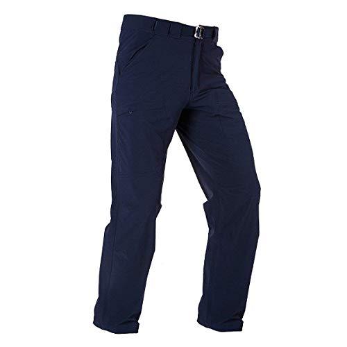 FREE SOLDIER Outdoor Men's Lightweight Waterproof Quick Dry Tactical Pants Nylon Spandex(Dark Navy 36W/32L) ()