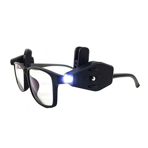 Clip On Led Light For Glasses