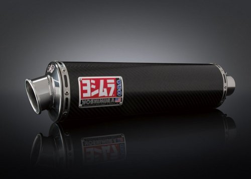 Yoshimura Gsxr1000 Suzuki Carbon Race (Yoshimura Exhaust RS3 Bolt-On Carbon Fiber for Suzuki GSXR-1000 01-04)