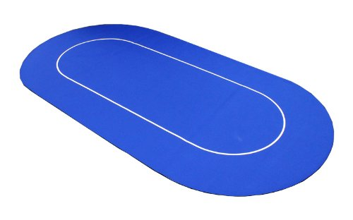 Roll Out No Slip Casino Table Top - Blue by JPC