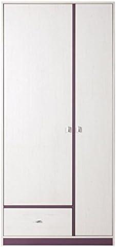 Armoire Largeur 90 Cm Couleur Violet Amazon Fr Bricolage