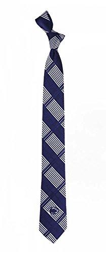 Penn State Skinny Plaid Poly Necktie