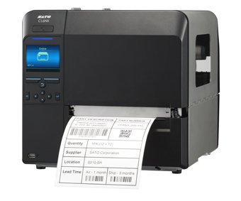 - Sato WWCL91361 Series CL6NX Industrial Thermal Transfer Printer with Dispenser, Rewinder and RTC, 305 dpi Resolution, 6.5