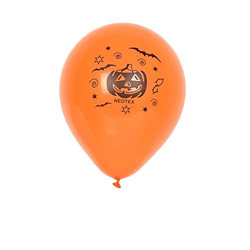 Willsa 100Pcs Halloween Birthday Party Decoration Supplies Balloon -