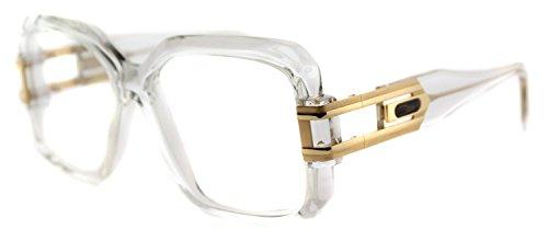 Cazal 623 Eyeglasses Legends Eye Glasses HIP HOP Style 065 Crystal by Cazal