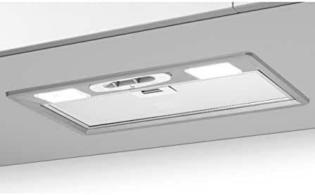 Best – Campana extractora integrada Cernobbio SL FM 70, barnizado gris metalizado, de 52 cm: Amazon.es: Hogar
