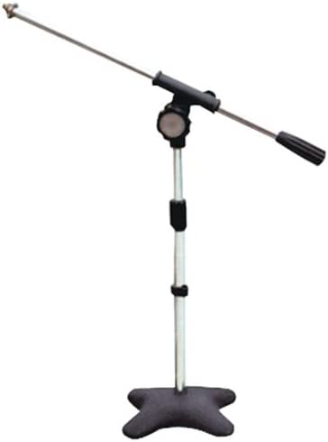 New Pyle PMKS7 Compact Base Microphone Stand DJ Pro Audio