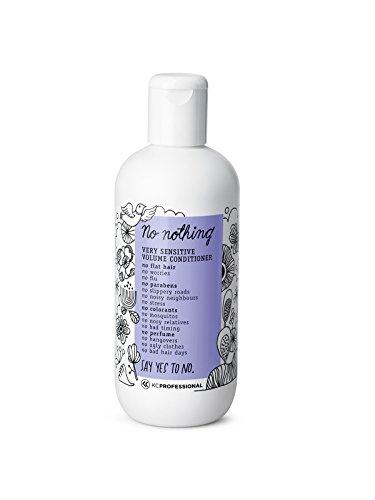 100% Vegan Volume Conditioner - Hypoallergenic Conditioner Gives Volume to Thin Hair - Allergen Free Conditioner, Fragrance Free Conditioner, Paraben Free, Gluten Free, 10.15 oz - KC Professional (Best Product To Give Hair Volume)