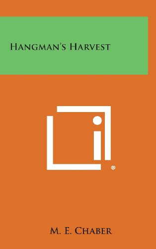 book cover of Hangman\'s Harvest