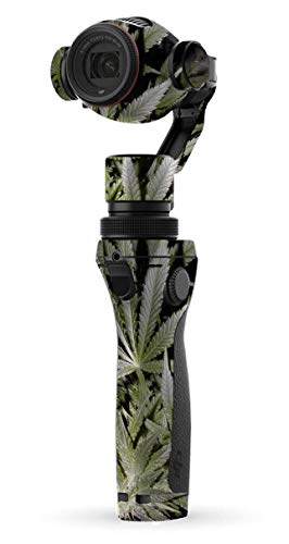 (Decal Kid Skin for DJI Osmo Plus Digital Zoom Handheld 4k Camera - Weed | Protective, Durable, Unique Vinyl Decal wrap Cover | Easy to Apply, Remove, and Change Styles)