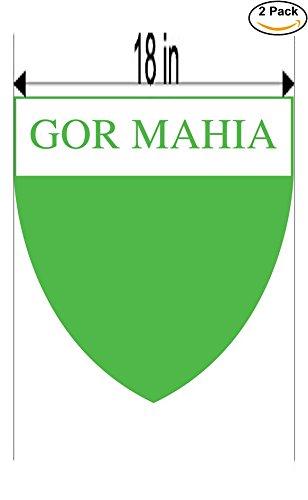 fan products of Gor Mahia Kenya Soccer Football Club FC 2 Stickers Car Bumper Window Sticker Decal Huge 18 inches