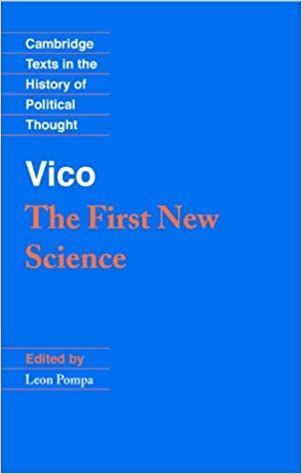 Book Vico: The First New Science (Cambridge Texts in the History of Political Thought)